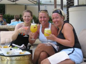 Jen and Friends on Vacation