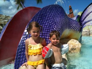My kids loving the best water park ever in Dominican!