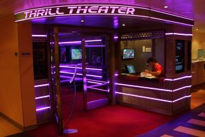 Go to a theater aboard a cruise ship