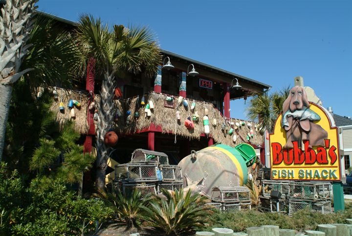 Myrtle beach best places to eat stay play for Bubbas fish shack