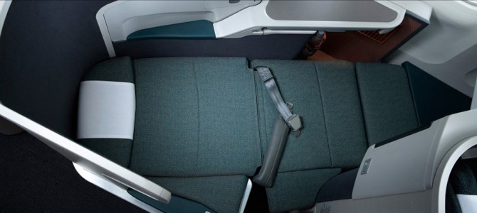 Cathay Pacific Business Class Review Video