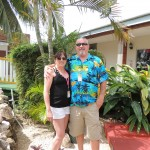 Kim and Rick in Belize