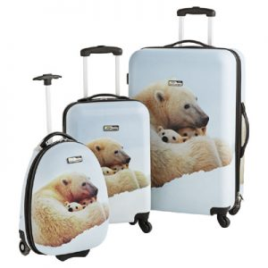National Geographic Explorer Polar Bear Suitcase