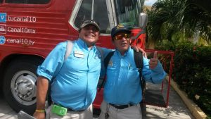 Our Tour Guides - Hernan and Luis