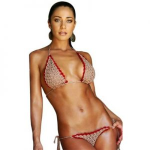 Jamaican Crochet Bikini Swimwear Swimsuit Swim Set