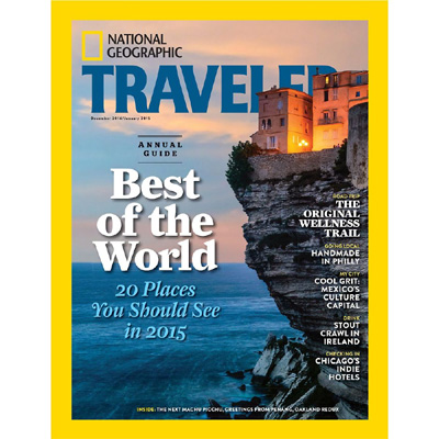 National Geographic Best of the world travel guide