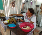 Fresh tortillas in Cozumel