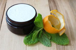 citrus mint shea butter foot cream: Apothecary Boys